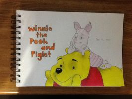 Winnie the Pooh and Piglet by LuvYen101