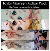 Taylor Momsen Action Pack by Green-Romance