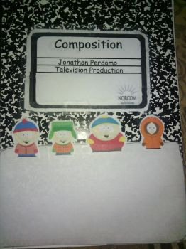 My Television Production Notebook! by JaptainPaggot
