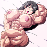 Naughty muscled girl by devmgf
