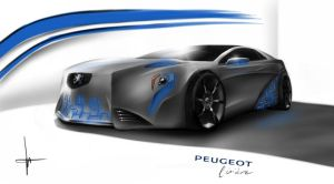 Peugeot Lisiere concept by keegancheok