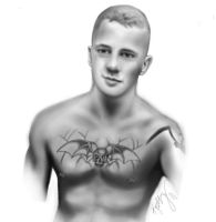 A digital sketch of the hubby :) by KattyMax