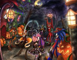 Sonic Boom - Halloween by TheHummingInker