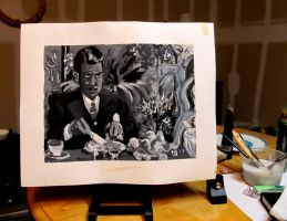 Breakfast with Charles Foster Kane by MWaters