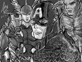 AVENGERS by Archonyto