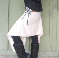 Asymetrical Skirt- Upcycled Clothing by DewdropzGarden