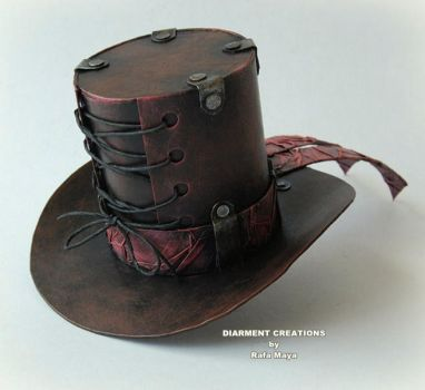 Steampunk Mini Top Hat by Diarment