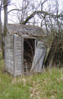 Outhouse 2 by DarkMaiden-Stock