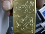 engraved zippo by blksun