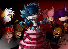 Collab Gift: Happy Birthday Twiggy by LancerWolf13