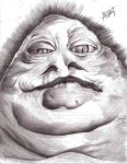 Jabba the hut by Andyroid0