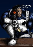 The Punisher - Sniping _color by Av3r