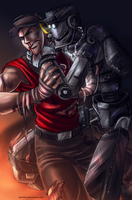 TF2: Strangle by DarkLitria