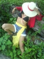 Crossplay Monkey D. Luffy. by thurmalina