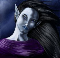 Moon Elf by Mistresselysia