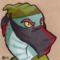 Commission - Masked Cura-Ocllo icon by Viccinor