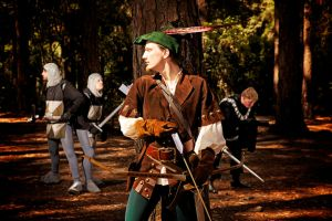 Robin Hood: Finest archer in the land! by EmperorMossy