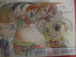 Happy Another Double Birthday Iz :D by Torosiken