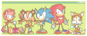 Sonic Boom: omit style by chibiirose