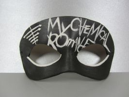 Black Parade inspired mask by maskedzone
