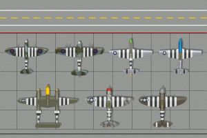 D Day Flightline by WS-Clave