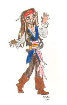 Jack Sparrow by ShoobaQueen