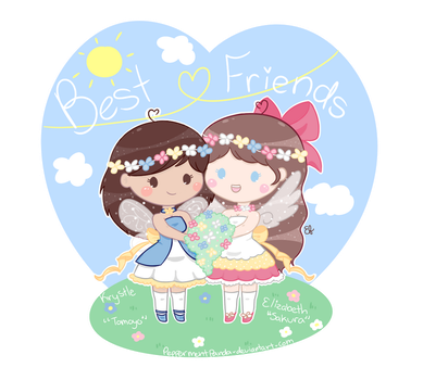 .:Gift:. Celebrating 10yrs of friendship! by PeppermentPanda