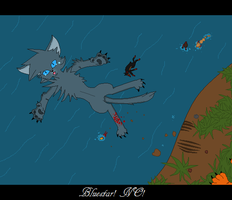 Bluestar's death by AmyroseXDSonic