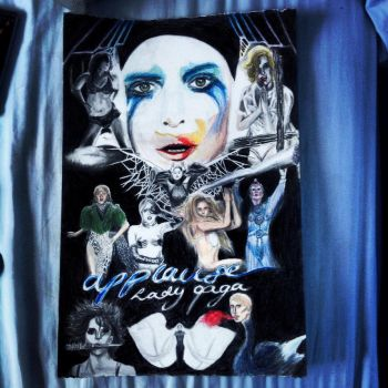 APPLAUSE - Lady Gaga by Jamessinclair