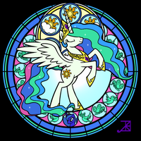 [Coloration] Stained Glass - Celestia by trigonita