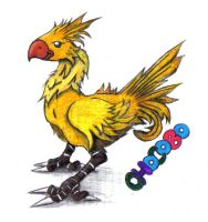 Chocobo by windyvalkyrie