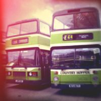 Holga 29 - Old Leicester Buses by uselessdesires