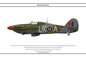 Hurricane GB 87 Sqn by WS-Clave