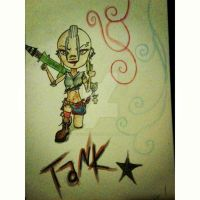 Tank girl kind of day by protocrystalline