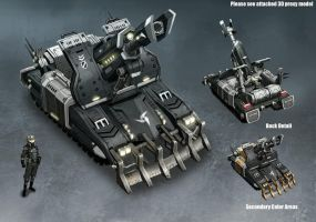 Enemy Light Artillery by kianchai