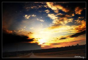 Cloudy Sunset 3 by dj-iso