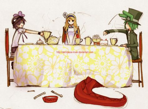 Tea time manners by demitasse-lover