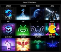 2015 Art Review by romus91
