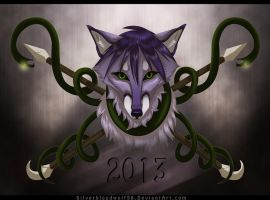 2013 calendar by Silverbloodwolf98