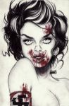 Bloody Anne Franken-teen by OriginalNick