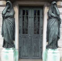 Pere Lachaise - Door 25 by senzostock