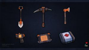 Proven Lands basic item set by dekdev