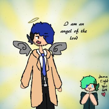 Angel of the lord by SepticPlierWaffles