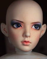 WIP Limhwa Half Elf Faceup by Hisomu