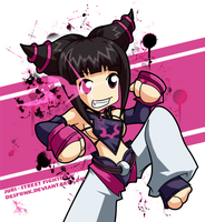 SF4 - Juri by desfunk