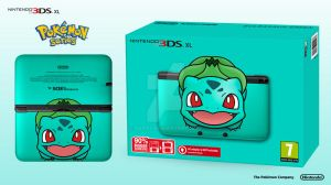 Nintendo 3DS XL Pokemon Series - Bulbasaur Edition by Paxxy