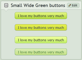 Small wide Green buttons by CypherVisor