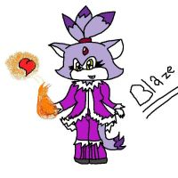 blaze the cat by emo2the3fox