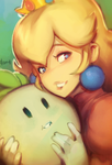 Peach and Turnip by mldoxy