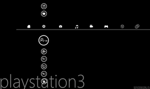 Modern Theme for PS3 BETA 1 by metrovinz